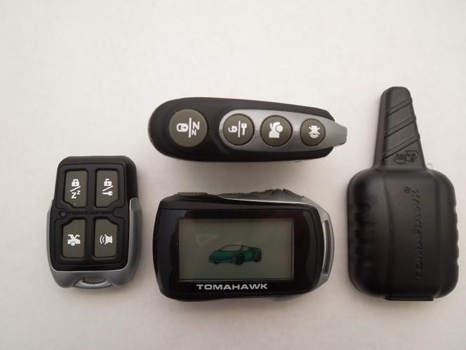 tomahawk инструкция по брелку tz 9020